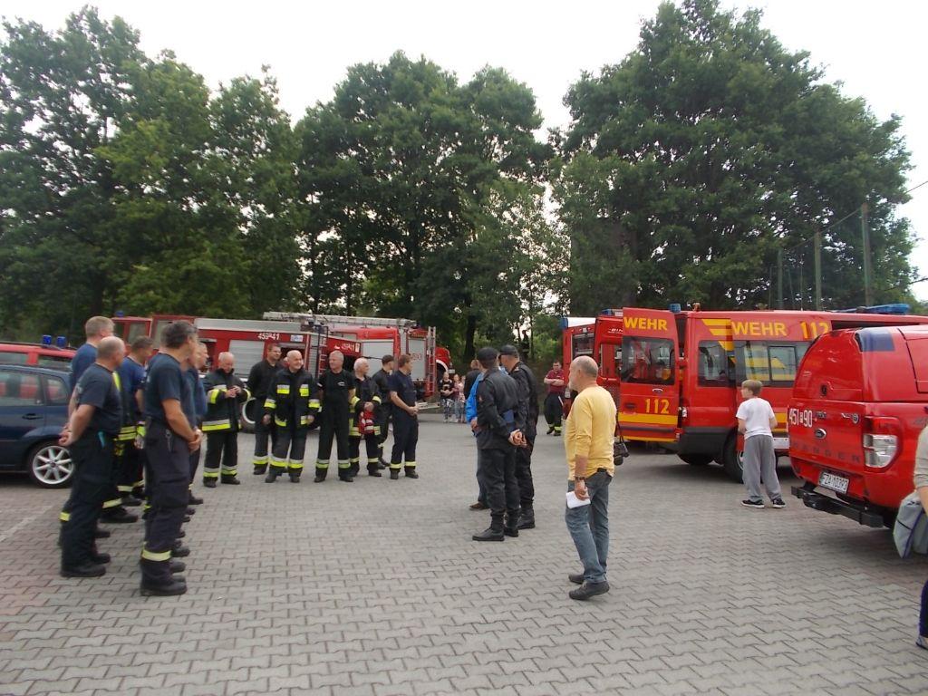 Ćwiczenia strażackie  22.06.2015 051