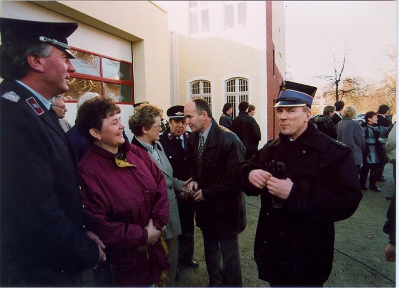 OSP Łęknica współpraca z Bad Muskau