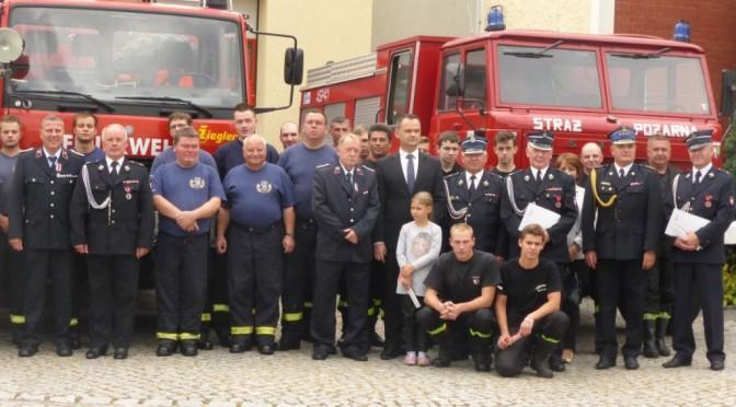 Współpraca strażaków Łęknicy i Bad Muskau
